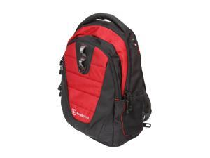 "SwissGear Black/Red 16"" Computer Backpack Model The Anthem (GA-7376-09F00)"