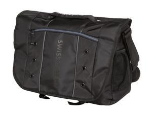 "SwissGear Black 16"" Messenger Bag for Laptop Model Jett (GA-7683-02F00)"