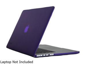 Speck Grape Purple SeeThru Satin Soft Touch, Hard Shell Case for MacBook Pro with Retina Display 15-Inch Model SPK-A1501