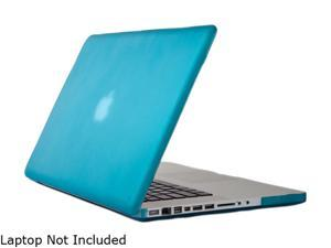 "Speck See-Thru Satin Macbook pro 15"" Soft Touch, Hard Plastic Case (Peacock) Model SPK-A1493"