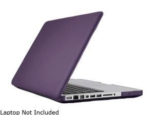 Speck - SeeThru Satin Soft Touch, Hard Shell Case for MacBook Pro 13-Inch, Grape Purple (SPK-A1481)