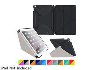 roocase Granite Black / Cool Gray Origami 3D Slim Shell Case for Apple iPad Air 2 (6th Generation 2014) /YMAPLAIR2OGSSGB/CG