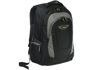 "Targus Trek Carrying Case (Backpack) for 16"" Notebook - Black, Yellow, White Accent"