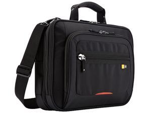 "Case Logic ZLCS-214 Carrying Case (Briefcase) for 14"" Notebook, iPad, Tablet - Black"