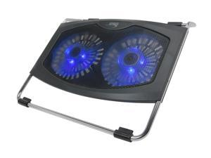 SYBA Double Fans Slick Design Cooler Stand for 17 Inch Laptop PC CL-NBK68021
