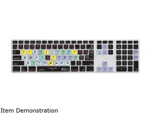 KB Covers Final Cut Pro X AZERTY Keyboard Cover for Apple Ultra-Thin Keyboard Model FCPX-AK-AZY-2