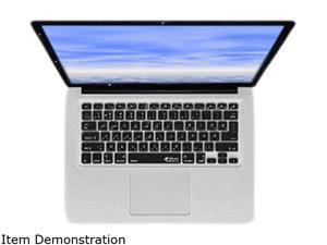 KB Covers Persian/Farsi Keyboard Cover for MacBook, MacBook Air & MacBook Pro (Unibody, Black Keys) PERS-M-CB-2