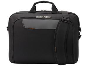 "Everki Black 17.3"" Advance Laptop Bag / Briefcase Model EKB407NCH17"
