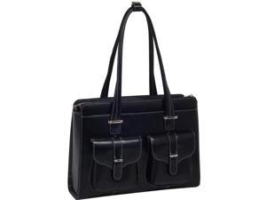 McKleinUSA Alexis W Series 96545 Ladies' Briefcase Black for Up to 15.4 Inches