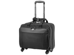 HP Black 4 Wheel Roller Case Model H5M93AA