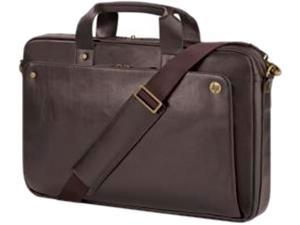 "HP Executive Carrying Case for 17.3"" Notebook, Keyboard - Brown"