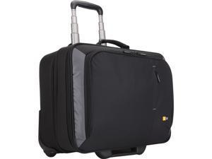"""Case Logic Black 17"""" Rolling Laptop Case Model VNR-217"""