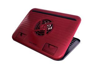 "Gear Head Dual-Cool Netbook Cooling Stand - Red - Fits up to 10.1"" NBCS2100RED"