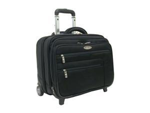 "Samsonite Black 16"" Wheeled Computer Case/ Overnighter Model 934445"