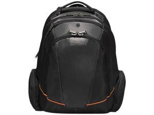 "Everki Black 16"" Flight Checkpoint Friendly Laptop Backpack Model EKP119"