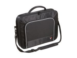 "V7 Black with gray accents 16"" Professional Frontloader Laptop Case Model CCP1-9N"