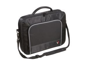 "V7 Black with gray accents 13"" Professional Frontloader Laptop Case Model CCP4-9N"