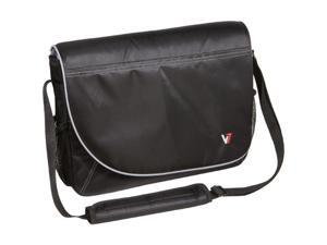 "V7 Black with gray accents 16"" Professional Messenger Laptop Case Model CMP1-9N"