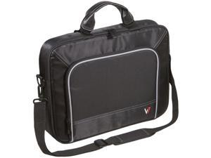 "V7 Black with gray accents 16"" Professional Toploader Laptop Case Model CTP1-9N"