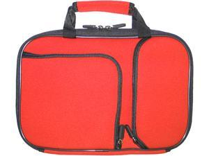 "PC Treasures Red 9-10"" PocketPro Deluxe Neoprene Netbook Case Model 07094"