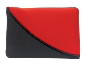 "PC Treasures Black/Red FlipIt! 10"" Neoprene Tablet Sleeve Model 07102"