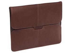 Targus Brown Hughes Leather Portfolio Slipcase for IPad Model TES01001US