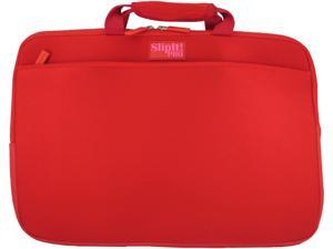 "PC Treasures Red 15.6"" SlipIt! Pro Notebook Case Model 07637"