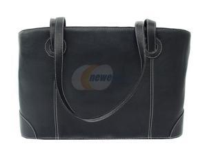 Piel LEATHER 2404-BLK Shopping Tote Black