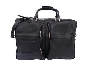 Piel LEATHER 8829-BLK Black Complete Carry-All Bag