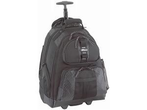 "Targus Black 15.4"" Rolling Notebook Backpack Model TSB700"