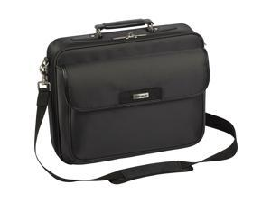 "Targus Two-Tone Black Checkpoint-Friendly 16"" Traditional Laptop Case Model TBC023US"