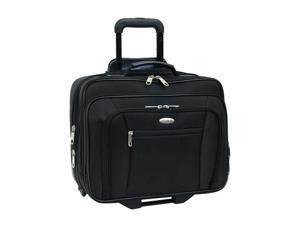 "Samsonite Black 15.6"" Wheeled Computer Case/overnighter Model 937985"