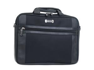 "Kenneth Cole Reaction Black 17"" R-TECH Top Zip Computer Case Model 536395"