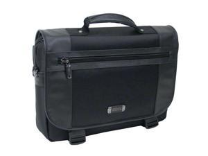 "Kenneth Cole Reaction Black 15.4"" Flapover Portfolio/computer Case Model 536655"