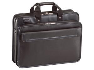 "Targus Black 16"" Commuter Leather Laptop Case Model TET027US"