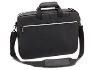 "TOSHIBA Black with silver accents 16"" Lightweight Carrying Case Model PA1449U-1EC6"