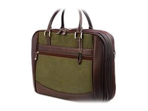 "Mobile Edge Green ScanFast Checkpoint Friendly Element Briefcase - 16"" PC/17"" Mac Model MESFEB9"