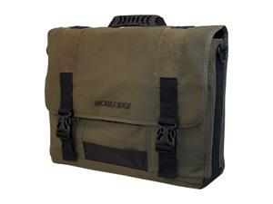 "Mobile Edge Olive Green 16"" The ECO Messenger Model MECME9"