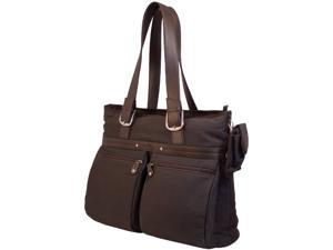 """Mobile Edge Chocolate 16"""" PC/17"""" MacBook The ECO Casual Totes Model MECTE88"""