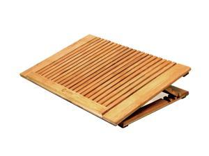 macally Bamboo Notebook Cooling Stand Model ECOFANPRO