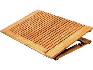 macally Bamboo Notebook Cooling Stand ECOFANPRO