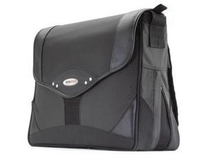 "Mobile Edge Charcoal/Black Premium Laptop Messenger - 15.4"" PC/17"" MacBook Model MEMP01"