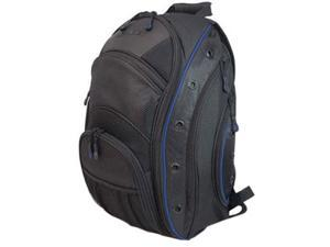 "Mobile Edge Black with Blue Trim 16"" PC/17"" MacBook EVO Backpack Model MEEVO3"