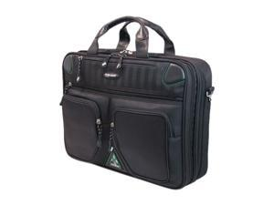 "Mobile Edge Black 16"" PC/17"" MacBook ScanFast Checkpoint Friendly Briefcase 2.0 Model MESFBC2.0"