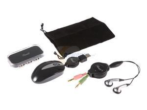 Rosewill Laptop Travel Kit (3 PCs: Mouse, Webphone & USB Hub) Model RNA-E3009