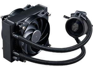 MasterLiquid Pro 120 All-In-One (AIO) Liquid Cooler with FlowOp Technology, Dual Chamber Design and MasterFan Pro Radiator Fan by Cooler Master