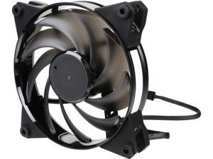 MasterFan Pro 120 Air Balance with Hybrid Fan Blade, Speed Profiles, Exclusive Silent Driver, Rubber Mounting Inserts, and Jam Protection by Cooler Master