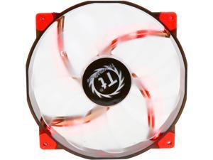 Thermaltake CL-F025-PL20RE-A 200mm Luna 20 Series RED LED High Airflow Case Fan