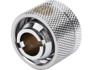 "Thermaltake CL-W030-CA00SL-A Pacific DIY LCS Chrome 1/2"" ID x 3/4"" OD Compression Fitting"