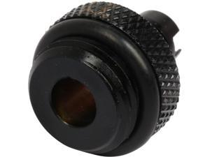"Thermaltake Pacific CL-W039-CU00BL-A Pacific DIY LCS Black 1/4"" ID Barb Fitting"